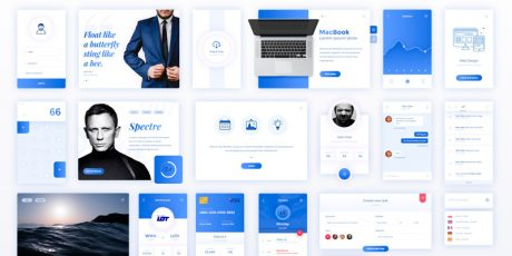 psd business ui template