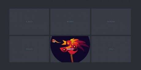 svg clip path hover effect