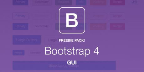 bootstrap 4 gui pack