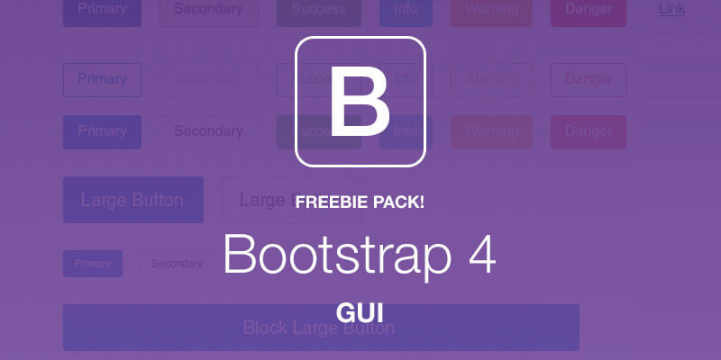Full Bootstrap 4 GUI Pack | Bypeople