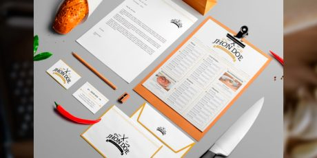 elegant branding template pack
