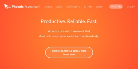 productivity web framework