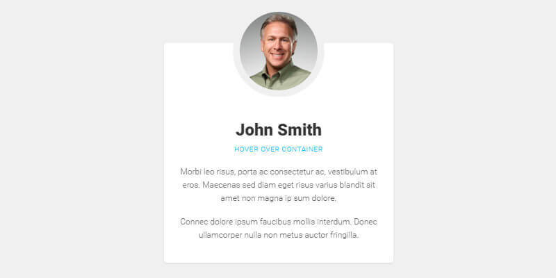 Flipping Profile Card Hover Effect | Bypeople