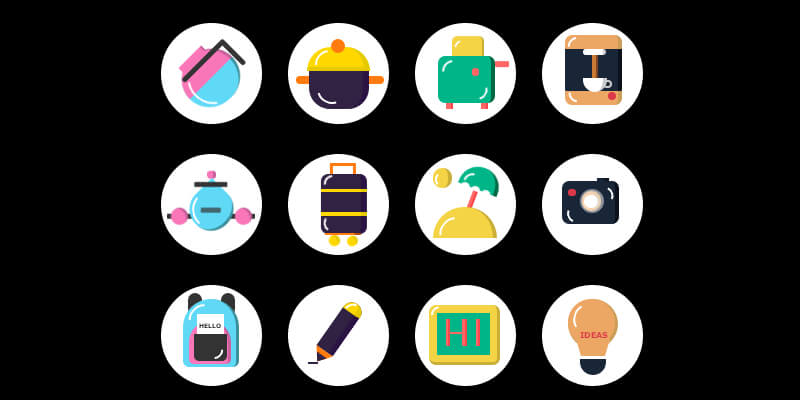 Funny Icons: Pure CSS Built Animated Icons