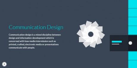 slide animated sidebar menu