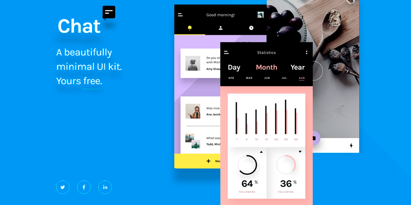 Photoshop sketch chat ui kit bypeople photoshop sketch chat ui kit fandeluxe Image collections