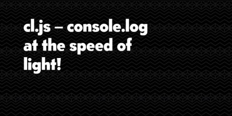 console logging snippet