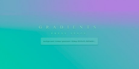gradients beautiful gradient colors snippet