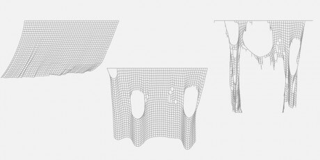javascript tearable cloth simulation