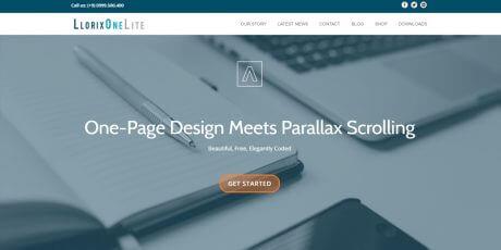 simple business wordpress theme