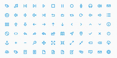 svg psd sketch line icons