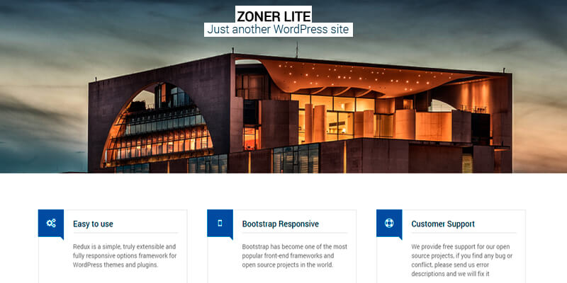 Zoner Lite: Real Estate WordPress Theme | Bypeople