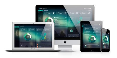 administration dashboard html template