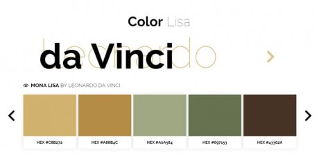 curated color palette masterpieces