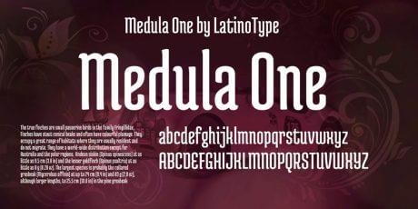 headlines organic modern font