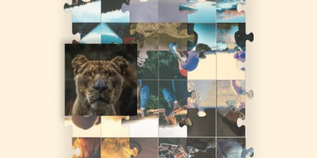 puzzle grid gallery css