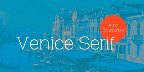 venice clean stylish serif font