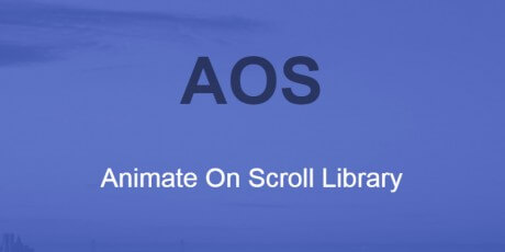 animate on scroll library