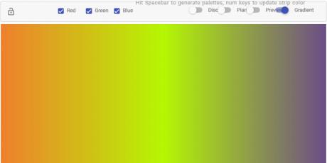 color scheme generating tool