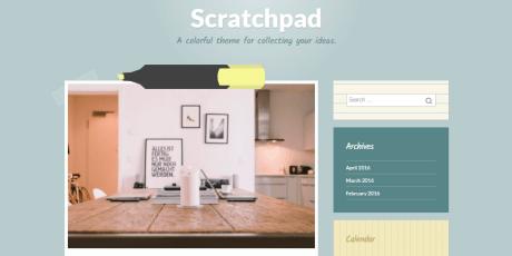 office blogging wordpress theme