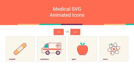 svg animated icons snippet