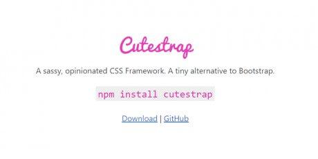 tiny minimal css framework