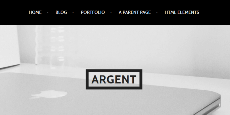 clean portfolio wordpress themes