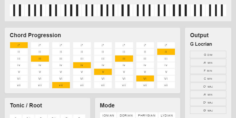 Musical Chord Progression Arpeggiator для Android