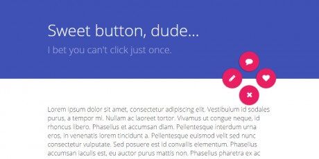 css material multi button