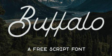 free logo script typeface