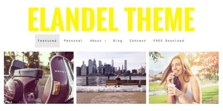 free responsive wordpress photography theme