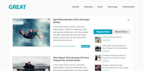 great responsive magazine wordpress theme
