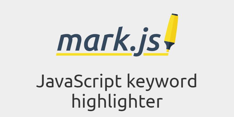 javascript keyword highlighter