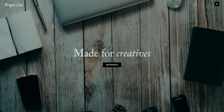 modern life parallax wordpress theme
