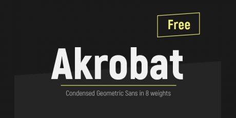 modern sans serif typeface