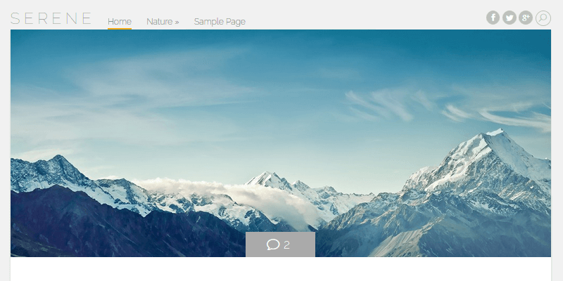 Serene natural wordpress theme bypeople - Serene traditional cottage in natural theme ...