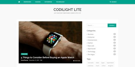 news magazine wordpress theme codilight