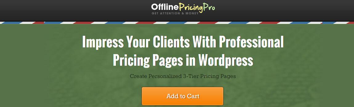 offline pricing