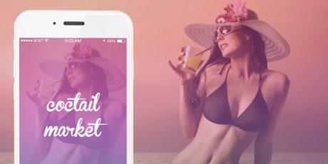 psd mobile app ui design