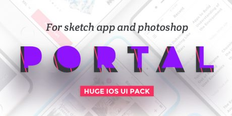 psd sketch user interface pack