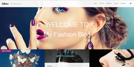 responsive fashion blogging wordpress theme