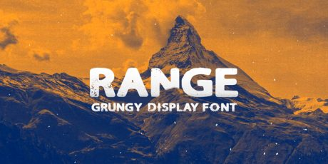 sans grungy display font