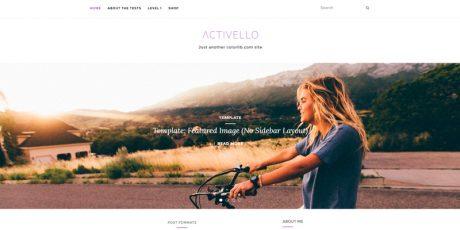 simple multipurpose blog theme