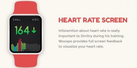 sport watch app psd user interface design