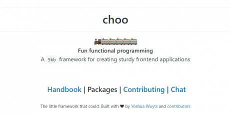 sturdy frontend javascript framework