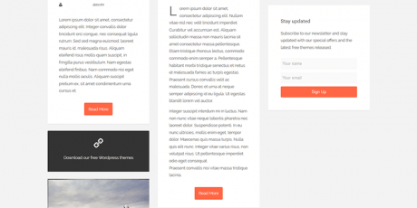 sueva free wordpress theme