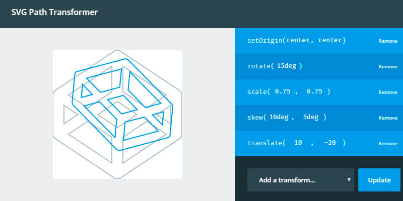 Svg Path Transformer Snippet Bypeople