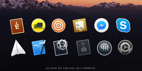 yosemite icns icons pack