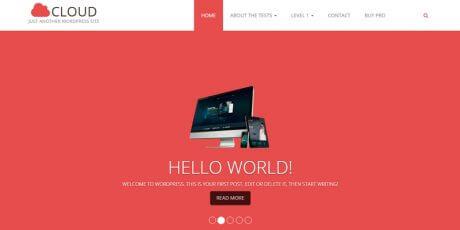 cloudpress build website wordpress theme