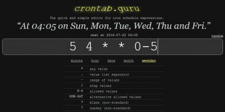 cronjob monitor